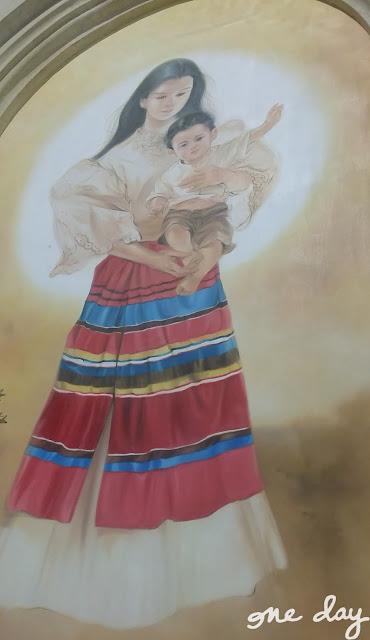 Filipiniana Mother Mary