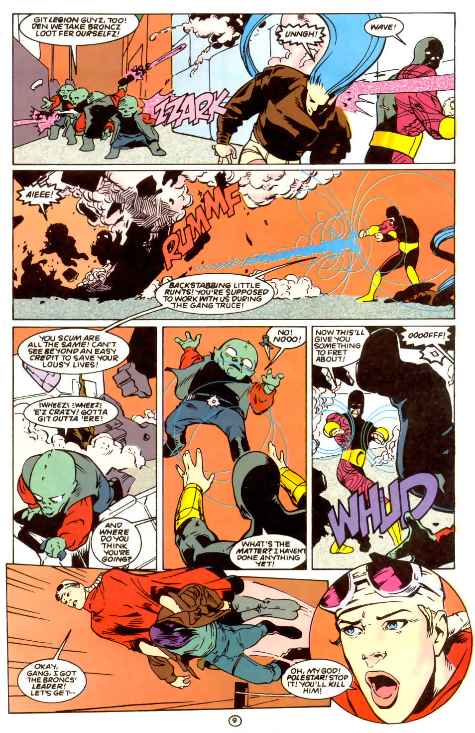 Legion of Super-Heroes (1989) 56 Page 9