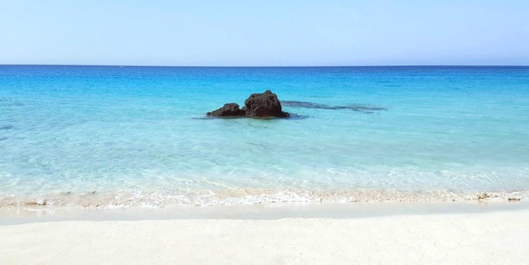 La spiaggia di Kedrodasos sull'isola di Creta, in Grecia