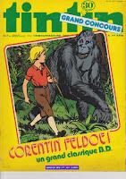 Corentin Feldoe ! un grand classique B.D.