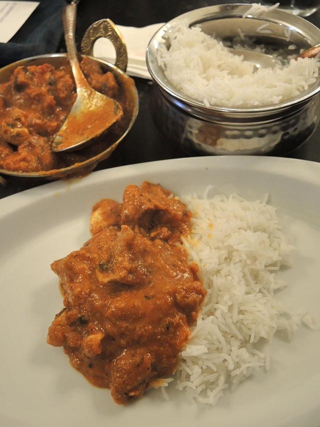Gent: eten bij 'Indian Curry House'