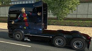Leo Messi Scania RJL