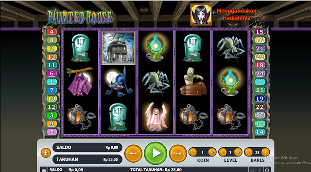 SITUS AGEN SLOT HAUNTED HOUSE GAMES HABANERO