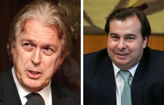 PSL decide apoiar reeleição de Rodrigo Maia na presidência da Câmara, diz Bivar