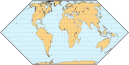 Perbedaan Proyeksi Peta Modern