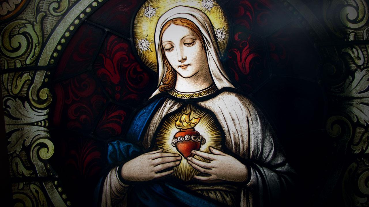 Wallpapers De Nossa Senhora Imagens Da Virgem Maria