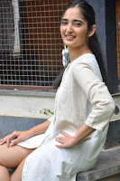 Radhika Cute Young New Actress in White Long Transparent Kurta ~  Exclusive Celebrities Galleries 019.JPG