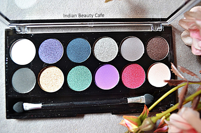 MUA Glamour Nights Eyeshadow Palette Photos