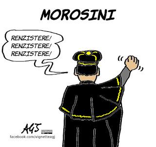 morosini, riforme, PD, magistratura, satira, vignetta