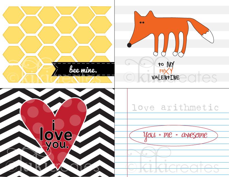 Kiki Creates Valentine S Cards Take 2 Free Download CV Templates Download Free CV Templates [optimizareseo.online]