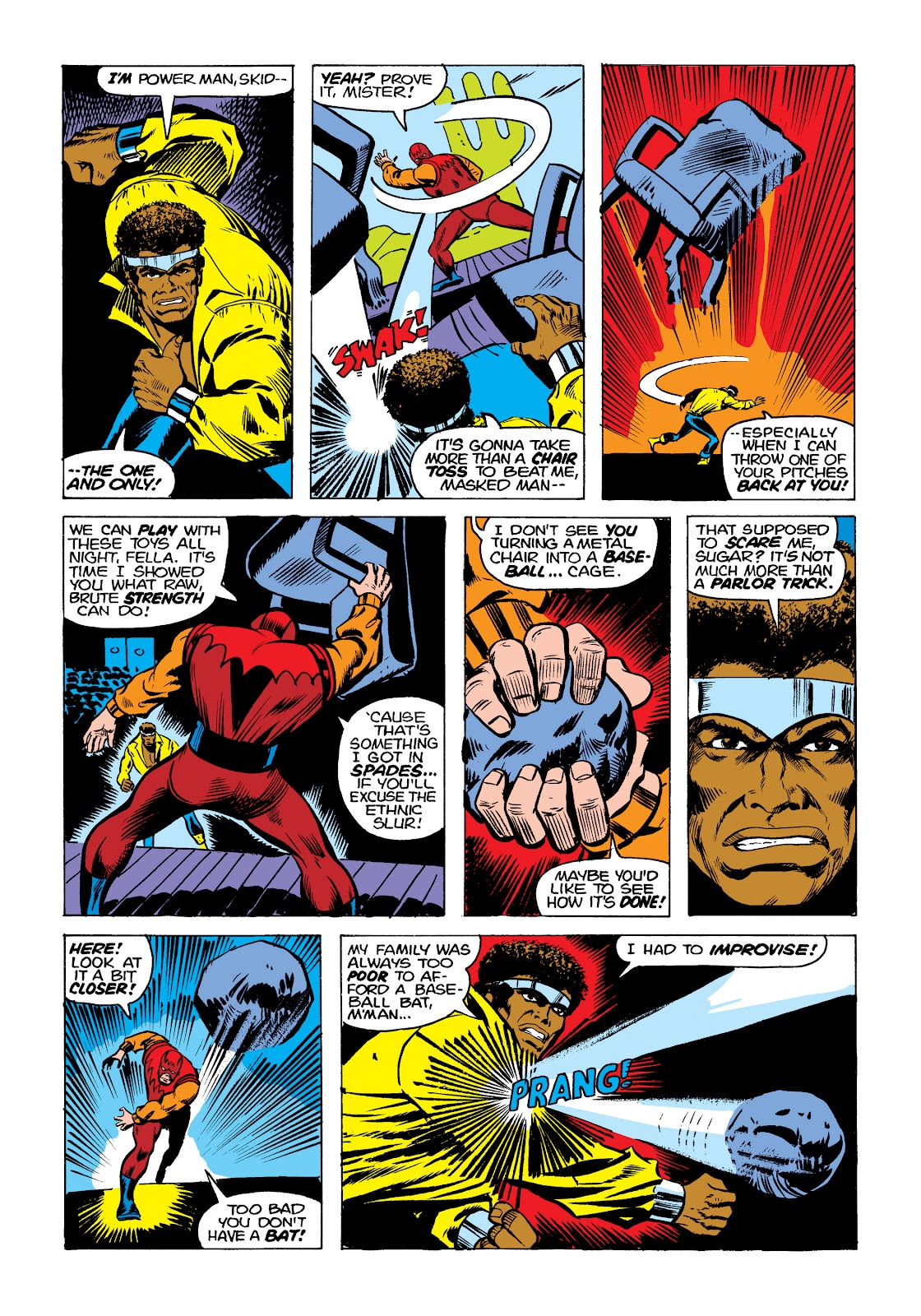Read online Marvel Masterworks: Luke Cage, Power Man comic -  Issue # TPB 2 (Part 1) - 95