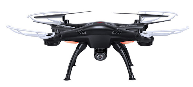 syma x5 by front look