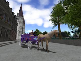 Inworldz IDI carriage ride