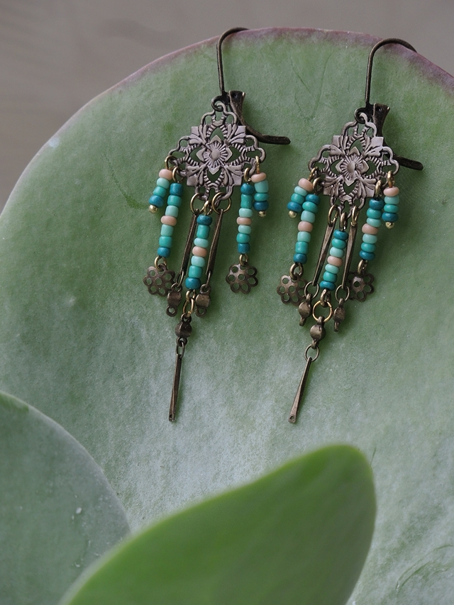 Free tutorial for earrings