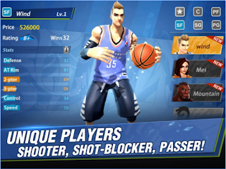 Hoop Legends: Slam Dunk Apk - Free Download Android Game