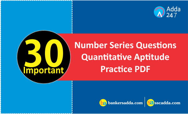 Number questions and pdf answers reasoning series
