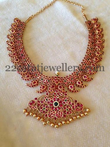 9b5b0c1e022cf Rubies Gold Plated Mango Haram - Jewellery Designs