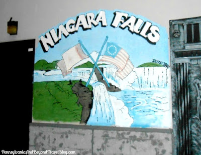 Niagara Falls Wall Mural by Artist Jesse Page