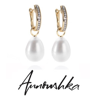 Kate Middleton wore ANNOUSHKA Earrings pearls