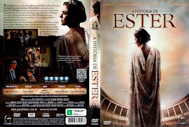 Capa DVD A História de Ester
