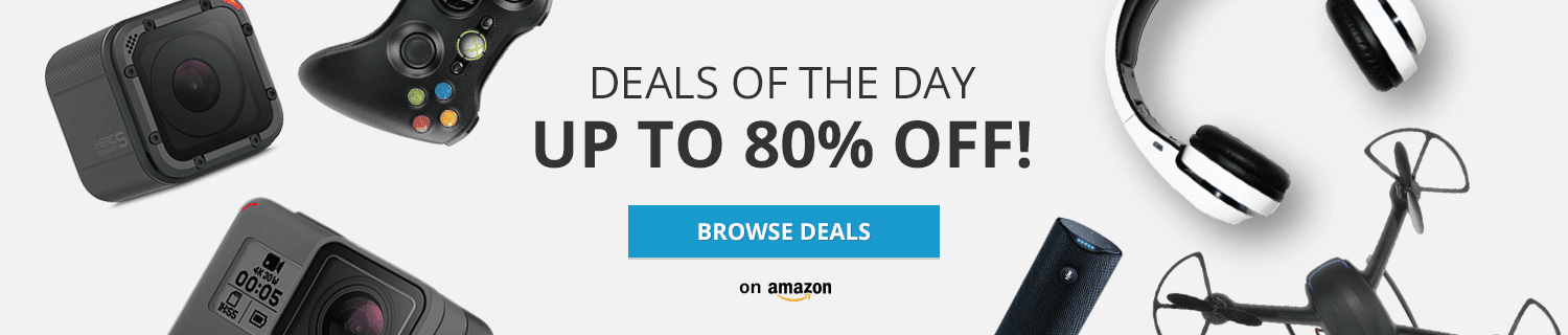 deals of the day 80 % discount