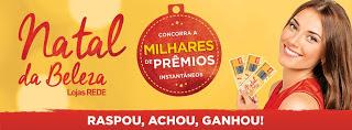 Promoção Lojas Rede 2016 Natal da Beleza