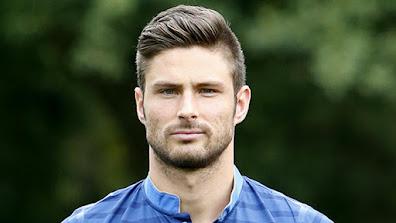 Olivier Giroud jogador de futebol mais bonito