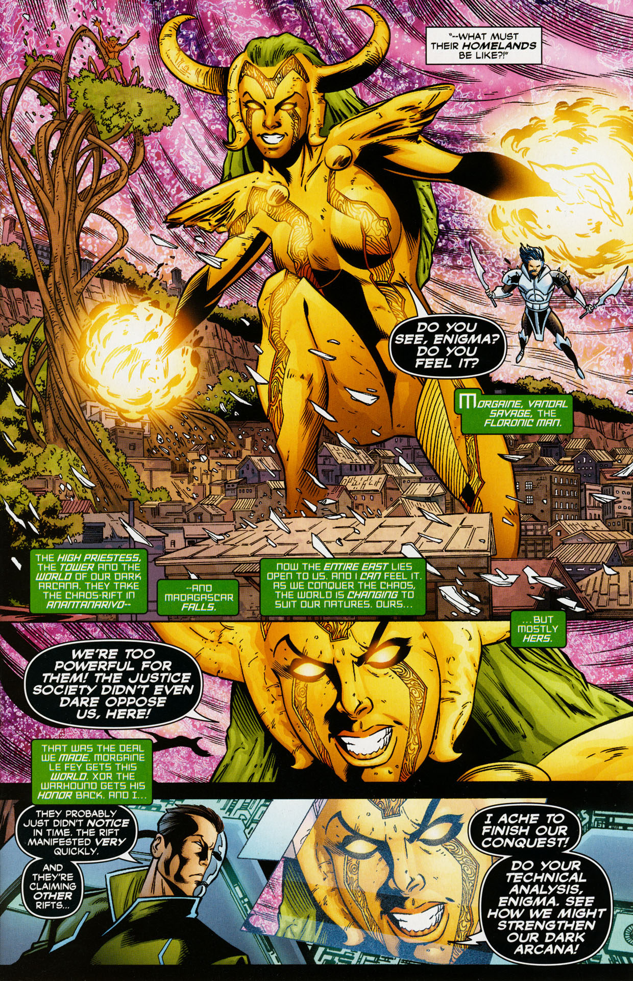 Read online Trinity (2008) comic -  Issue #35 - 5