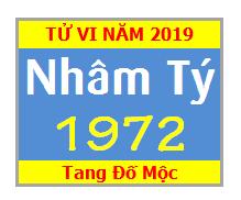 Tử Vi Tuổi 1972 Năm 2019