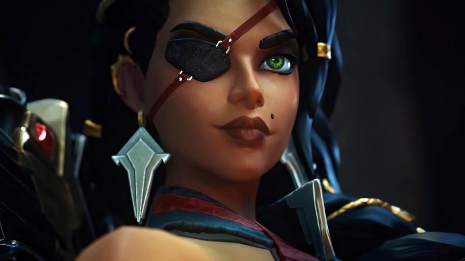 Samira, League of Legends, 4K, #3.2626