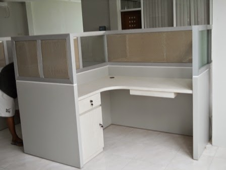 Cubicle Workstation X-Shape