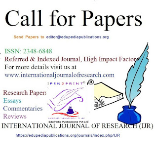 Call for Papers April-May 2017