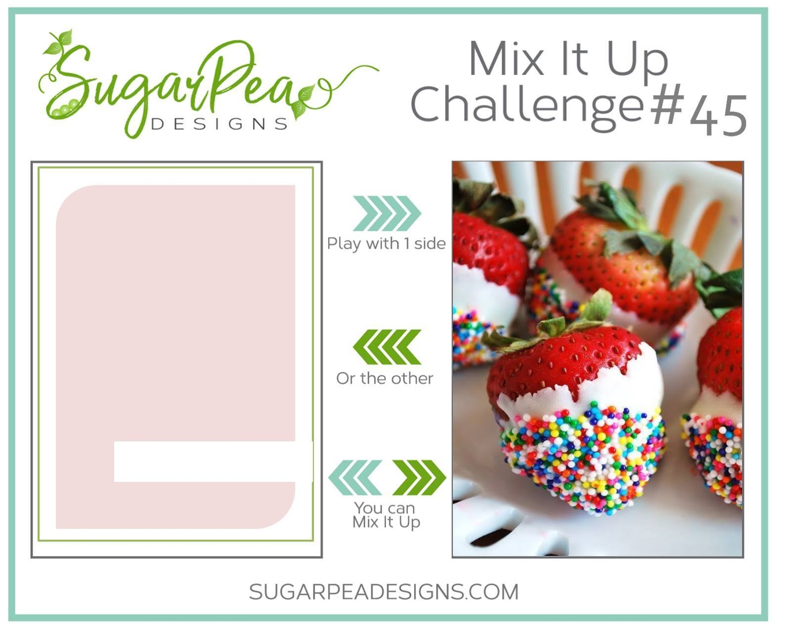 Random Winner Mix It Up Challenge #45~July 2018