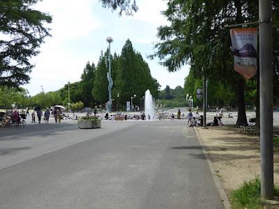 花博記念公園鶴見緑地 噴水