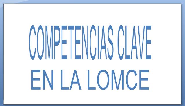 competencias clave LOMCE programacion didactica oposiciones secundaria FP