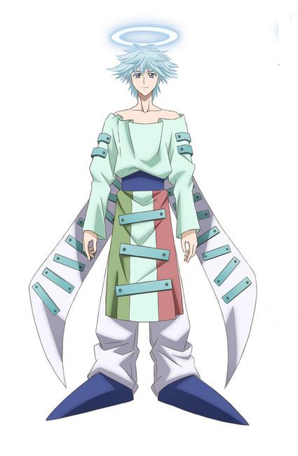 Nobunaga Shimazaki como Fugen Shinjin