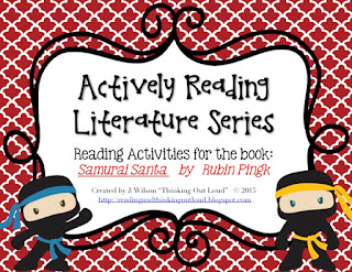 https://www.teacherspayteachers.com/Product/Actively-Reading-Series-Samurai-Santa-2230139