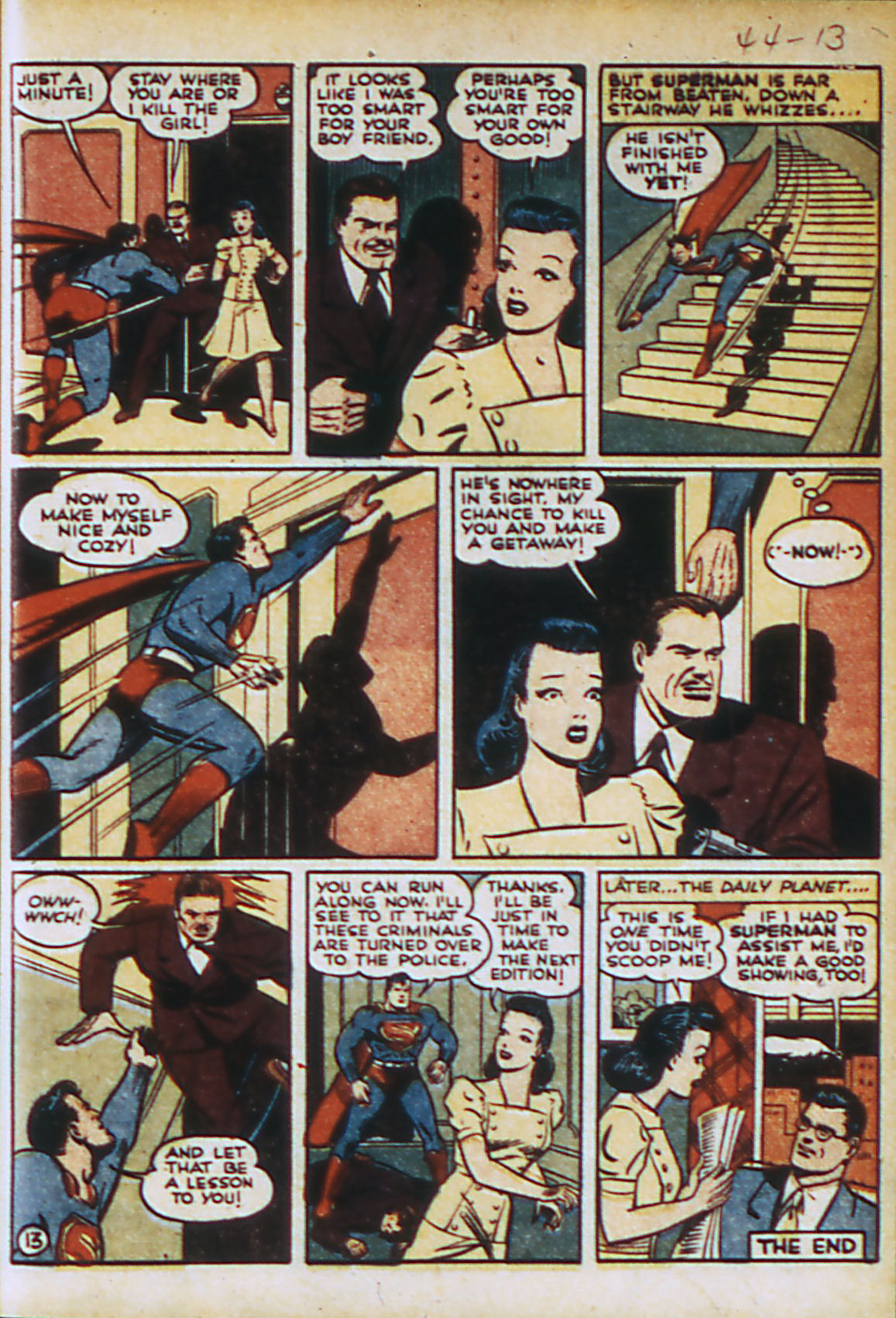 Read online Action Comics (1938) comic -  Issue #44 - 16