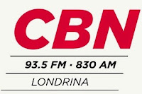 Rádio CBN AM 830 de Londrina PR ao vivo