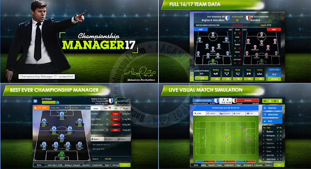 Championship Manager 17 Versi 1.2.0.582 APk Terbaru For Android