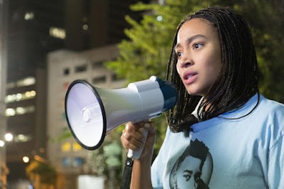 The Hate U Give 2018 movie still Amandla Stenberg