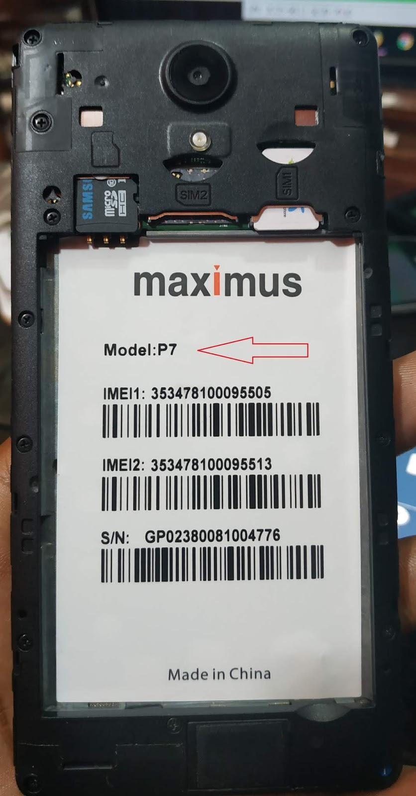 MAXIMUS P7 GP 8 1 0 MT6739 EMMC FLASH FILE (FRP LOCK SOLVE