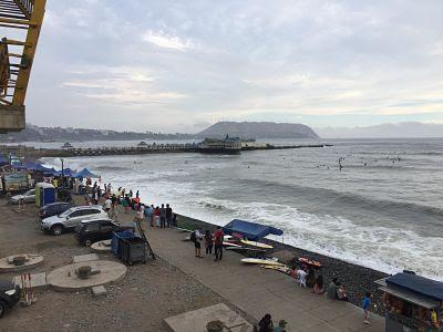 Playa waikiki. Lima. Perú. Miraflores