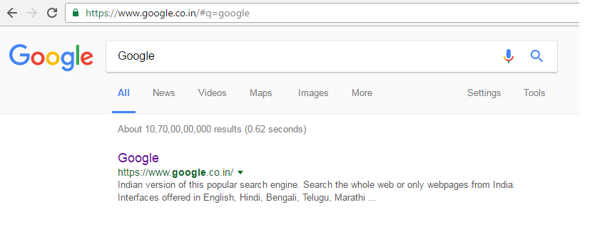 Did You Noticed The New Google Search Bar?