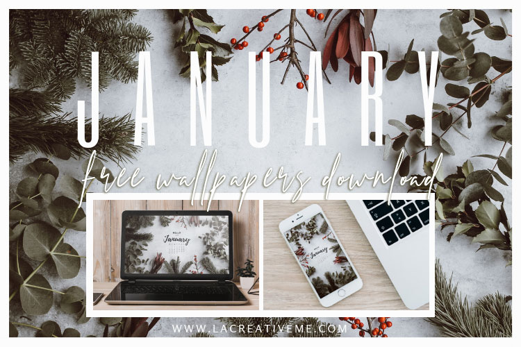 January Free Wallpapers Download