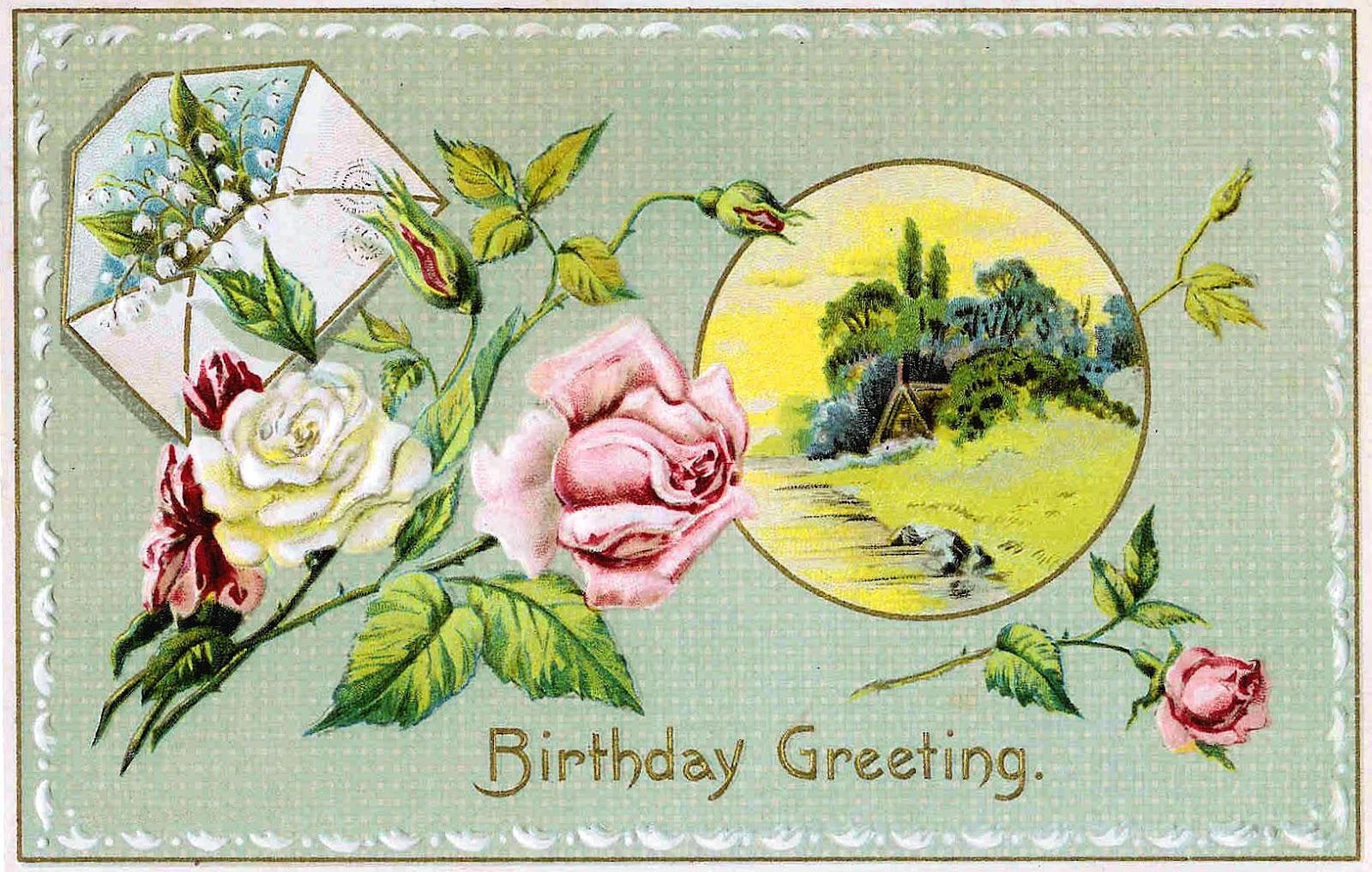 free retro birthday clip art - photo #2