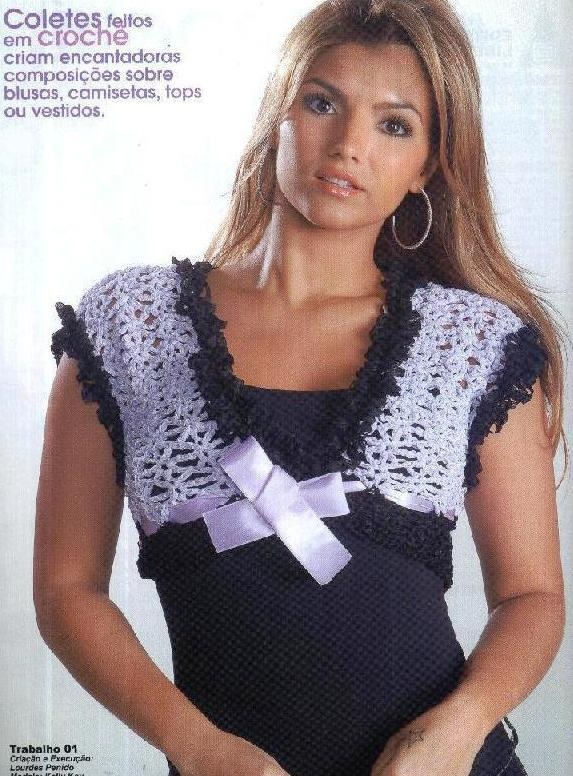 Patron Crochet Top Lazo