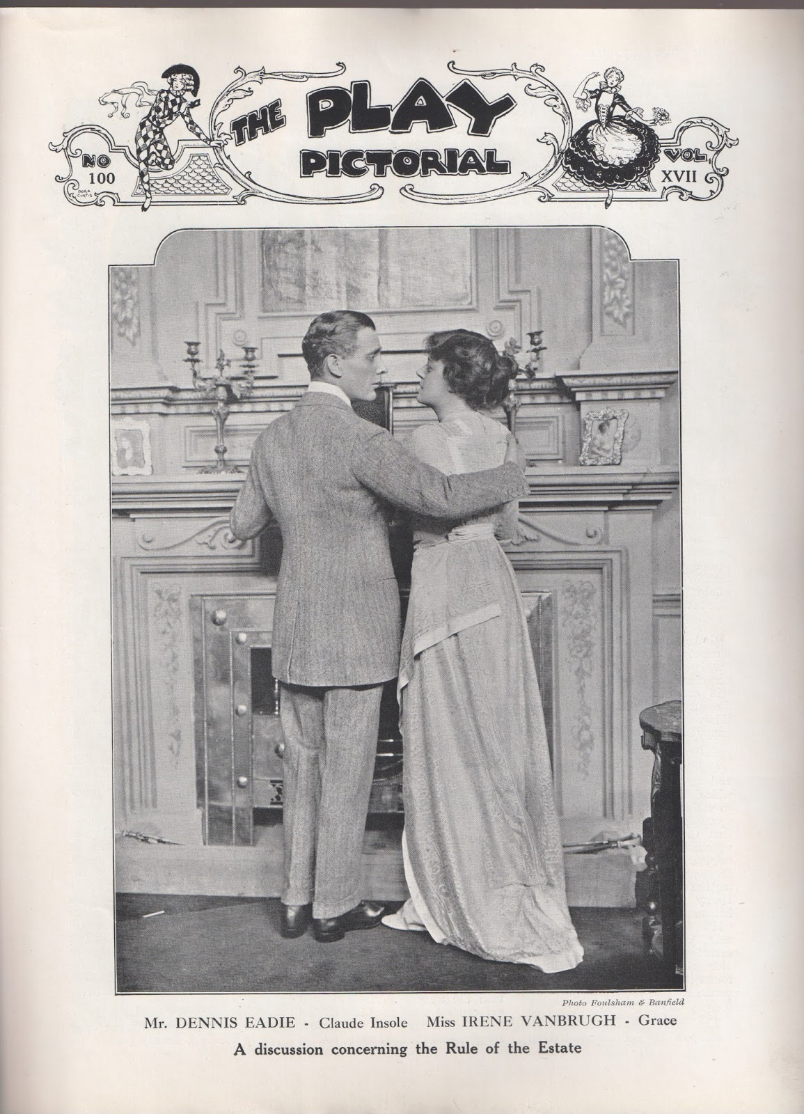 Dennis Eadie & Irene Vanbrugh as Claude & Grace Insoley
