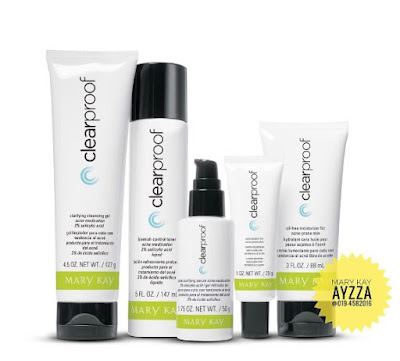 set jerawat mary kay clear proof