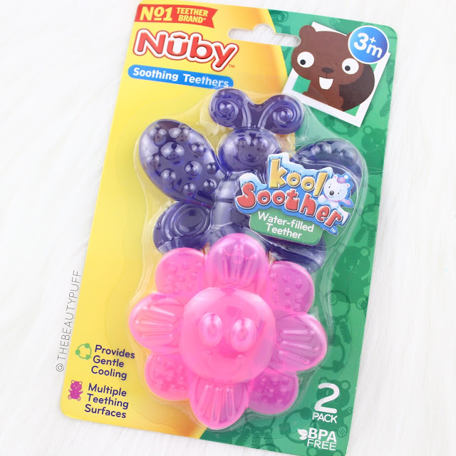 Nuby KoolSoother Animal Teethers  |  The Beauty Puff